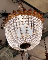plaza hotel crystal basket chandelier