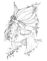 Free Printable Fairy Coloring Pages Gewerkeinfo