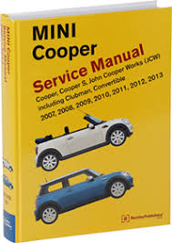 mini cooper service manual 2007 2013 bentley publishers mini cooper service manual 07 13