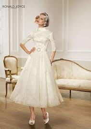 10 quirky vintage tea length wedding dresses