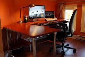 gaming corner desk.  Desk Gaming Corner Desk Inside E