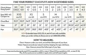 So Slimming By Chico S Size Chart Chicos Size Chart Image 0 1 Conversion Coreyconner
