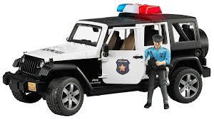 <b>Bruder Внедорожник Jeep</b> Wrangler Unlimited Rubicon Полиция ...