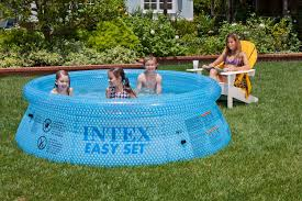 Fine Intex Above Ground Pool How To Put Up An On Innovation Ideas
