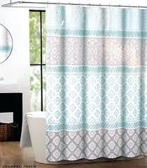 light green shower curtains blue yellow green striped cool glow shower curtain