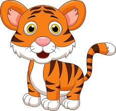 cute animated baby tigers. Interesting Animated Cute Baby Tiger Cartoon Stock Vector  19119613 Throughout Animated Baby Tigers T