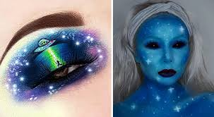 these 2018 alien makeup looks will make your costume seem out of this world
