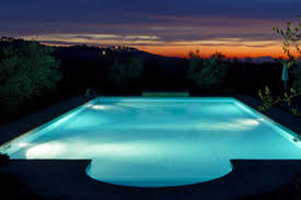 swimming pool lighting options. source swimming pool lighting options