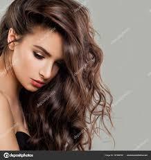 完璧な髪型でセクシーな美しい女性ファッションモデル ストック写真