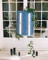 Make A Seating Chart 25 Unique Wedding Seating Charts To Guide Guests To Their Tables