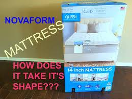 novaform 14 comfort grande queen gel memory foam mattress. gel mattress expanding review - comfortgrande novaform how it grows !!! novaform 14 comfort grande queen gel memory foam mattress v