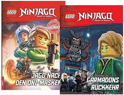 LEGO Ninjago - Garmadons Rückkehr + Jagd nach den Oni-Masken (Gebundenes  Buch), für Erstleser & Ninjago-Fans: Amazon.de: Spielzeug