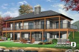 Home Plans and House Designs with Walkout Basement from ...