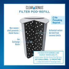 brita water filter. Clear Brita Water Filter