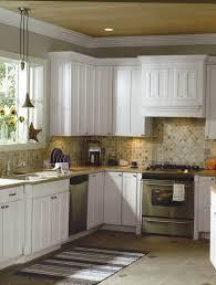 White Kitchen With Tile Floor 30 White Kitchen Backsplash Ideas 2998 Baytownkitchen
