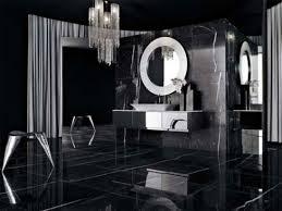 black bathroom. Dramatic Black Bathroom S