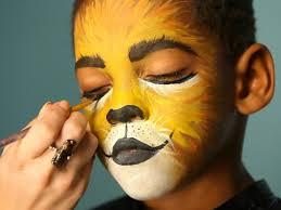 kid s makeup tutorial lion