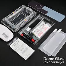 <b>Защитное стекло Whitestone</b> DomeGlass для Galaxy S21, без УФ ...