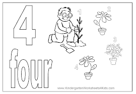 Small Picture Number Coloring Pages 1 10