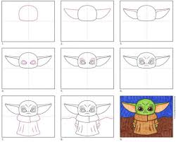 Line study albrecht durer stippling mark making drawing techniques line drawing the darkest dots drawings. How To Draw Baby Yoda Art Projects For Kids