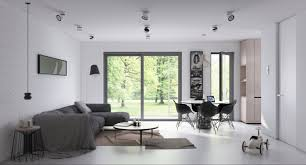 Open Space Living Room Designs 2 Open Plan Living And Dining Room Design With Sleek Interior