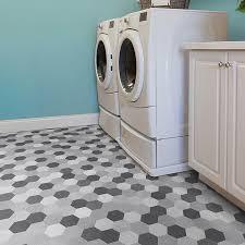 vinyl floor with pattern