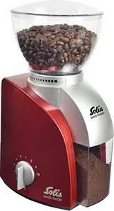 <b>Кофемолка Solis Scala Coffee</b> grinder red купить в интернет ...