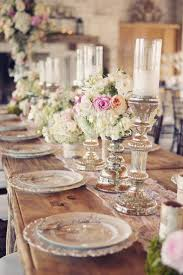 Wedding Reception Table Decorations Interior Photography