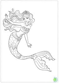 Free Mermaid Coloring Pages Realistic Mermaid Coloring Pages
