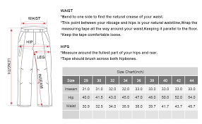 Military Size Chart Jessie Kidden Mens Cotton Military Cargo Pants 8 Pockets Casual Work Combat Trousers