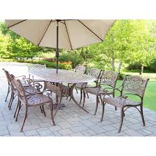 Outdoor Table With Chairs And Umbrella