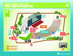 Pne Summer Concert Seating Chart Pacific Coliseum Seating Map Concourse Level Pictures