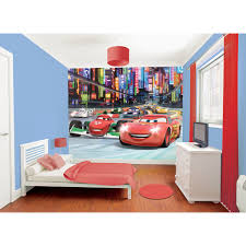 Lightning Mcqueen Bedroom Furniture Walltastic Disney Cars Wallpaper Mural 8ft X 10ft 1t6yjpg