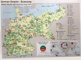The German Empires Economy In 1913 Mining Industry
