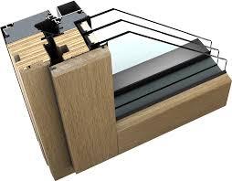 Holzalu Fenster Der Anderen Art Mit Schichtholz Kern