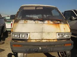 Junkyard Find: 1984 Toyota Van, With Bonus San Francisco ...