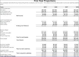 Pro Forma Cash Flow Projections 3 Year Profit And Loss Template Income Projection Pro Forma