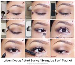 elegant makeup with basic makeup tutorial with may s 1 1 palette 3 looks urban decay basics