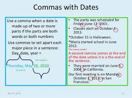 When To Use Comma Comma Rules Sutori