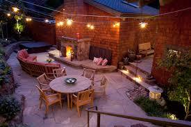 outdoor patio lights backyard string lighting ideas