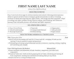 Objective For Truck Driver Resume Truck Driver Resume Objectives 45