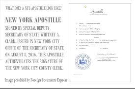 New York Hague Apostille