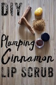 cinnamon lip scrub 1