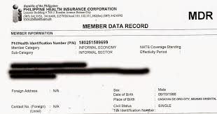 Myphilhealth How To Request Mdr Or Id In Philhealth
