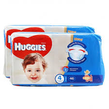 huggies size 7 buy huggies comfy fit diapers size 4 7 18 kg large 2 x 46 pieces