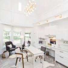 White airy home office Desks Bump Bright And Airy Home Office Hgtv Photo Library White Transitional Home Office Photos Hgtv