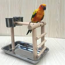bird perch stand parrot perch pet bird play gym stand table perch re parrot perch stand bird perch