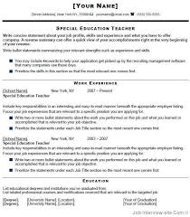 sample special education teacher cover letters cover letter cover letter find the answers here to special education resume sample
