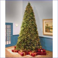 Outdoor Decorations Artificial Christmas Tree  Pre Lit Christmas 12 Ft Fake Christmas Tree