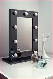 make up spiegel lampen 53635 kleine make up spiegel met hoogglans zwart kader en dimbare led